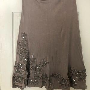 Inc maxi skirt